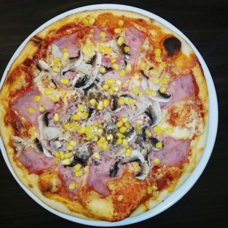 Livornese pizza